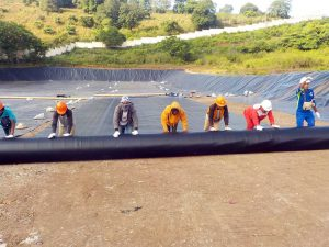 geotextile, geomembrane, geogrid
