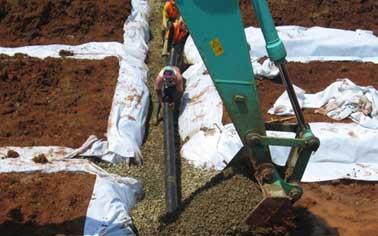 Penggunaan Geopipe di Tempat Pembuangan Akhir (TPA)